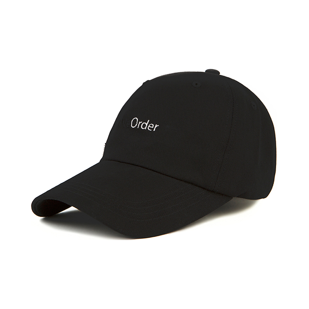 [SF9 다원 MXM 임영민 강민경 착용][Motifest] Garments New Order Double Strap Cap (Black)