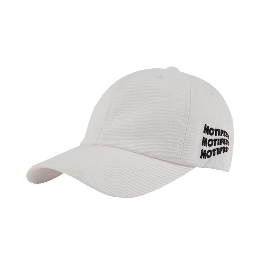 [방탄소년단 뷔 진 샤이니 온유 착용][Motifest] Basic Flag Cap (White)