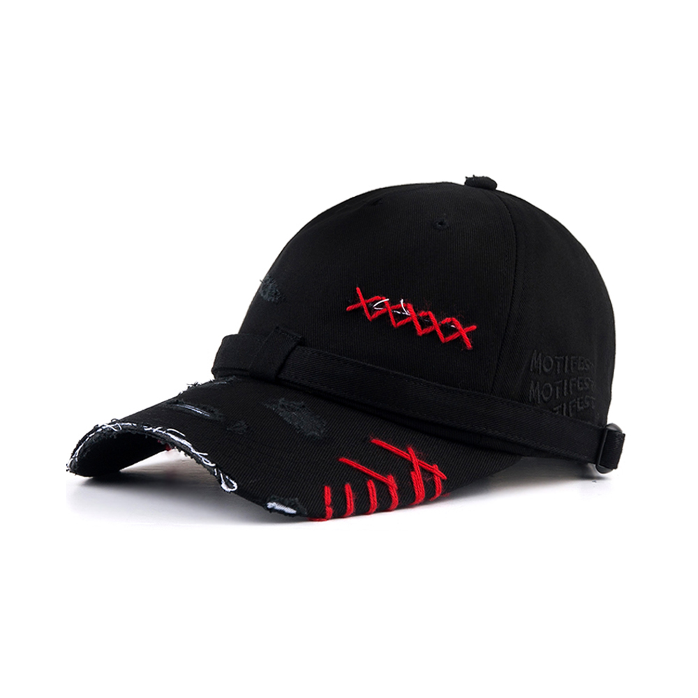 [Motifest] Tough Flag Danggi Cap Dis Rainbow Thread Ver. (Black/Red)