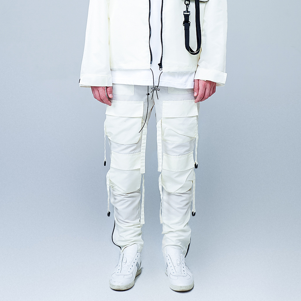 [오케이션 착용][Motifest] 19 S/S Garments Bondage Pants Waterproof Ver. (Cream)