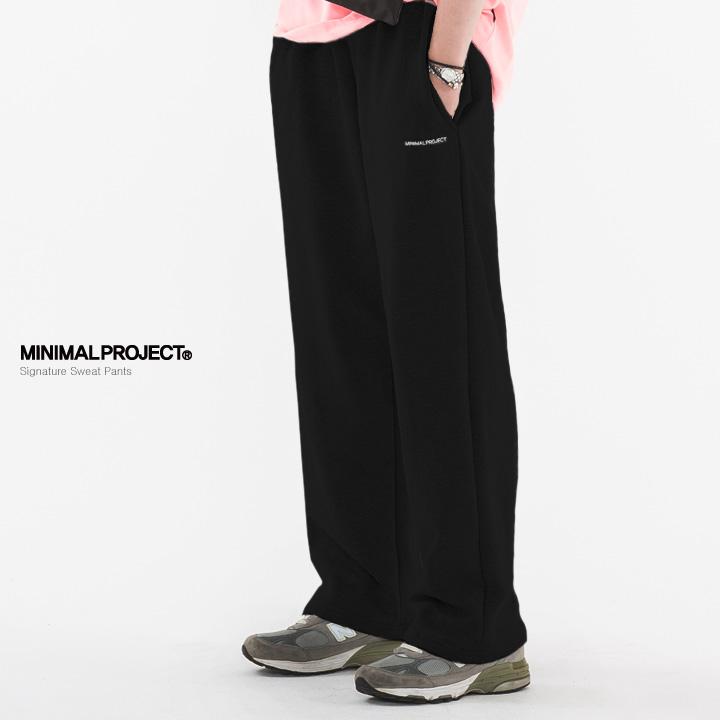 [minimal project] 미니멀프로젝트 와이드 스웨트 팬츠 MTP102 / 2color