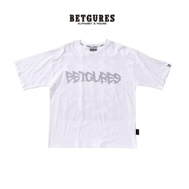 [벳규어스] 크레이지 스카치 반팔 티셔츠 (S M L 흰색)