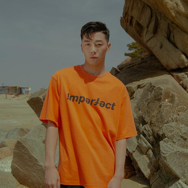 IMPFCT 티셔츠 orange