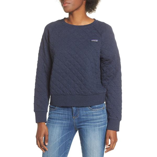 파타고니아 여성 크루넥 스웨터 네이비