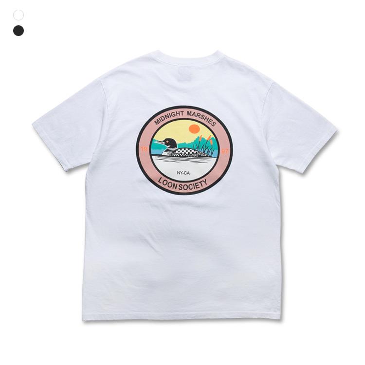 프롬에이투비 반팔 티셔츠 TOB19ST104 룬 워싱 티셔츠