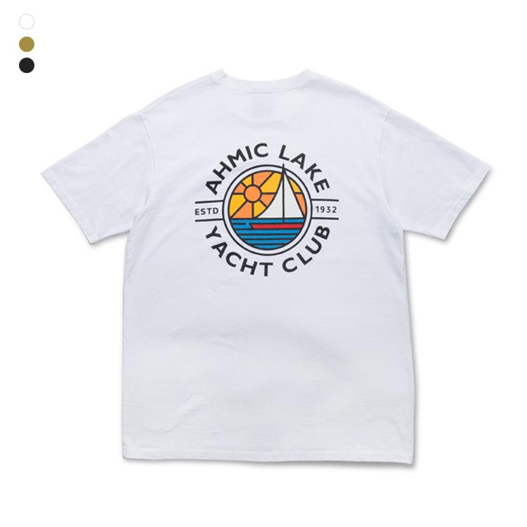 프롬에이투비 반팔 티셔츠 TOB19ST103 요트 클럽 워싱 티셔츠