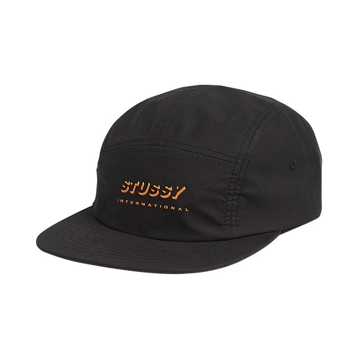 스투시 쉐도우 로고 캠프 캡 블랙 / 132911-BLACK