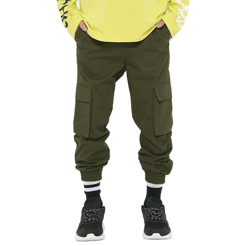 [단독1+1] ROCKPSYCHO(V) Cotton Jogger pant- Khaki / 락사이코(V) 면죠거팬츠-카키
