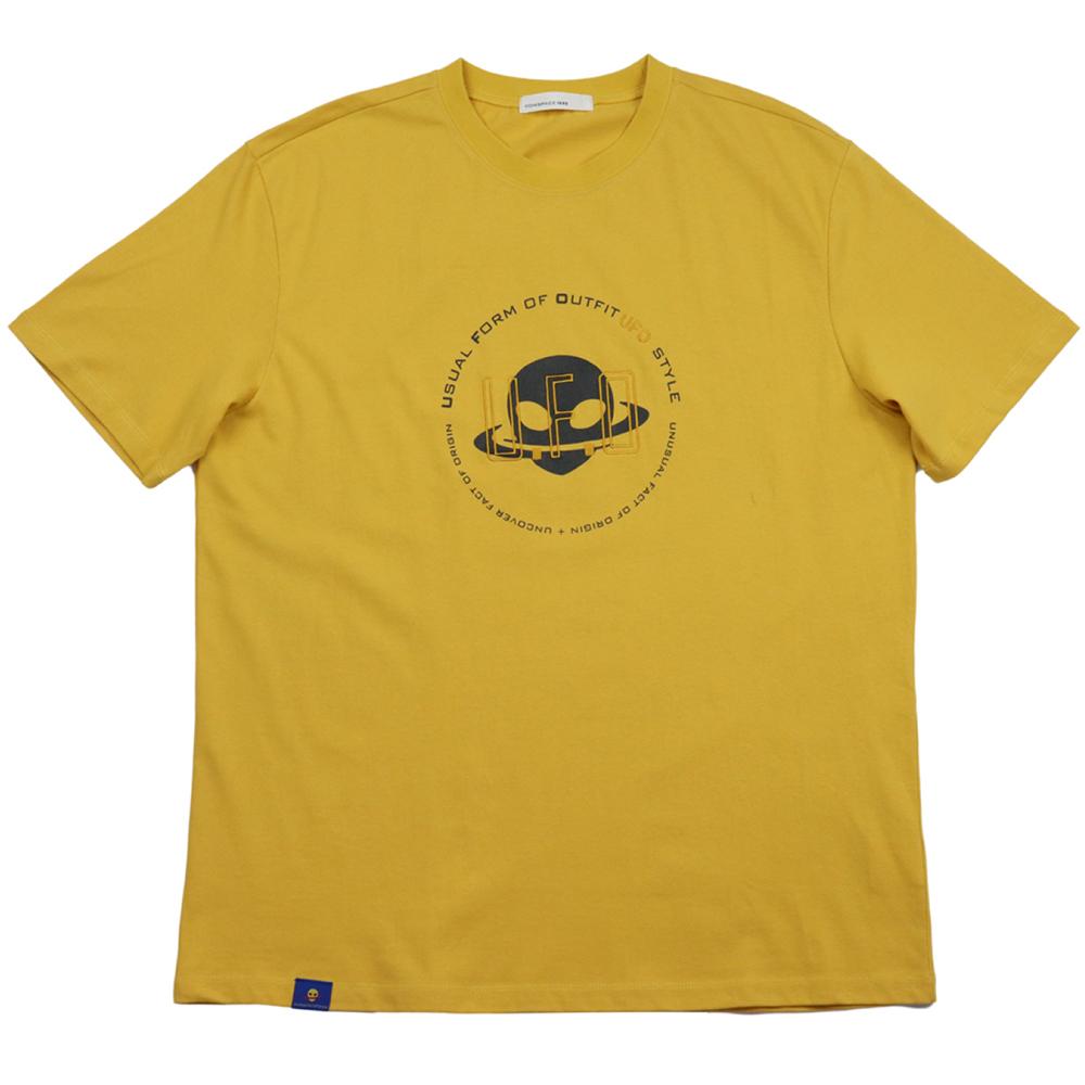 유에포 티셔츠 머스타드