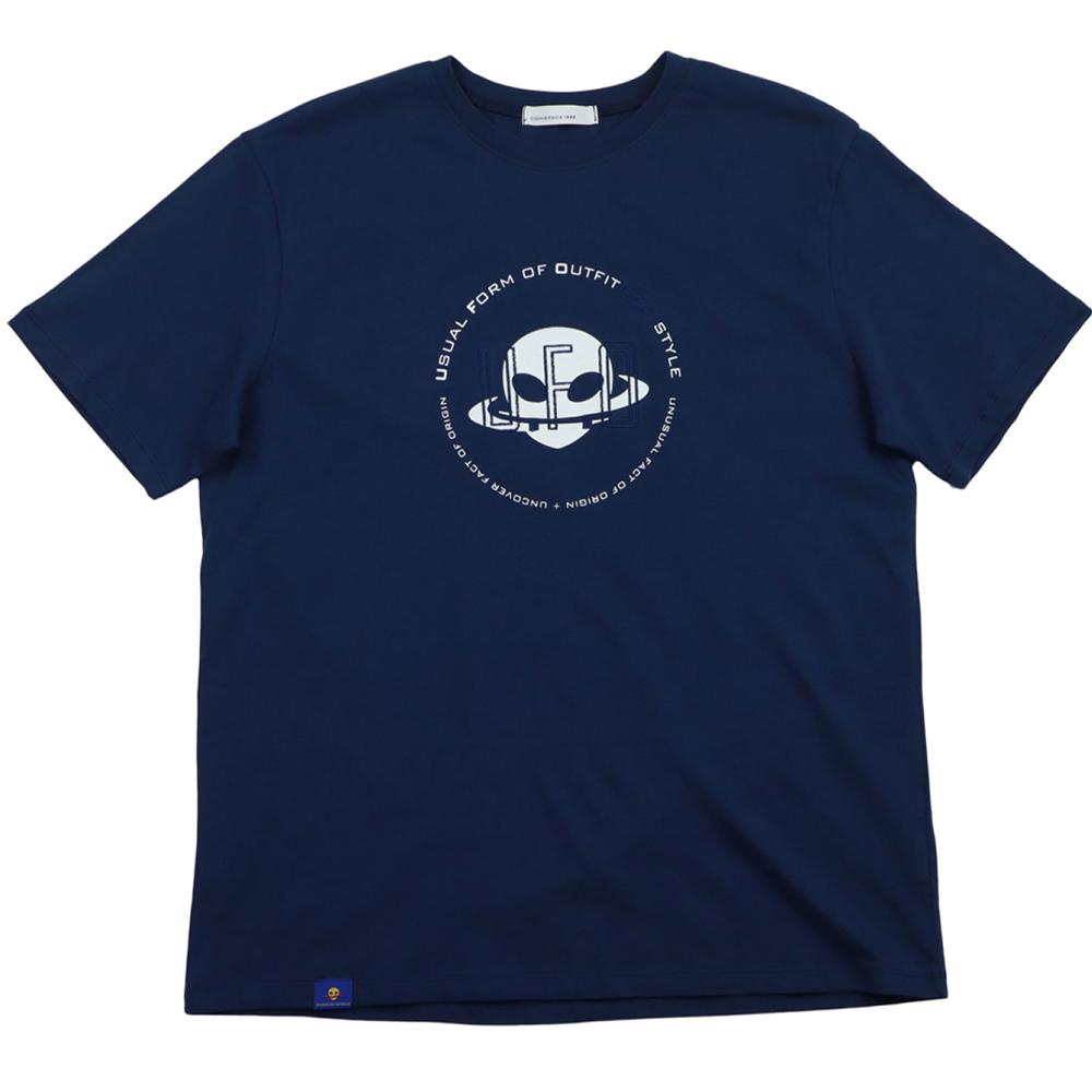 유에포 티셔츠 네이비