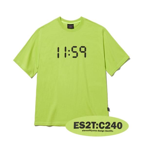 BASIC OVER FIT T-SHIRTS (LIME) [ETS001H23LI]