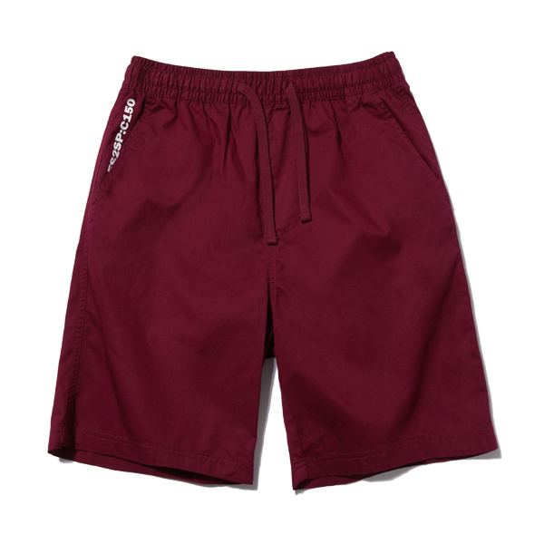 [단독할인]BASIC HALF PANTS (WINE) [ESP001H23WI]