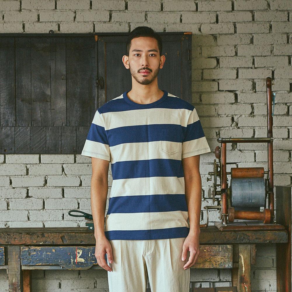 WIDE BOEDER TEE 와이드 스트라이프 티셔츠