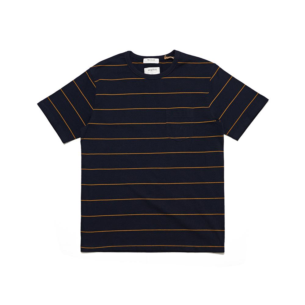 MONO PIN STRIPE 핀 스트라이프 티셔츠