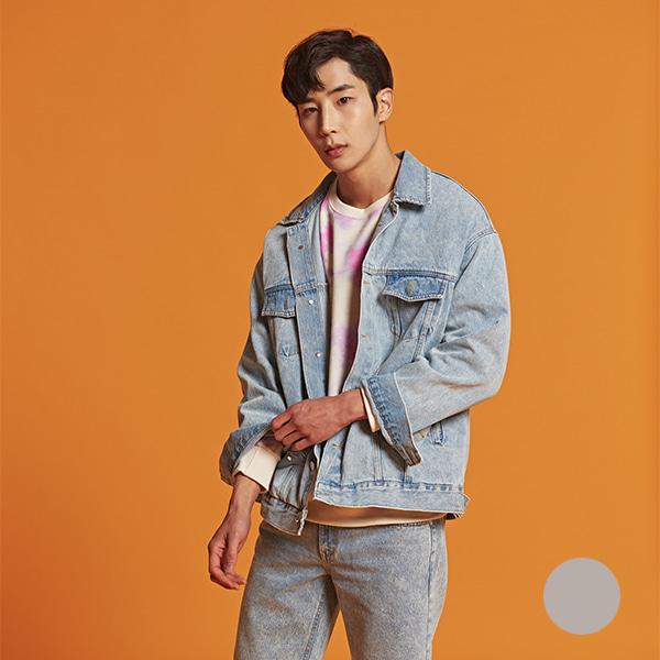 [올앤드]남성 오버핏 빈티지 데님 자켓_LMJUI1311-913