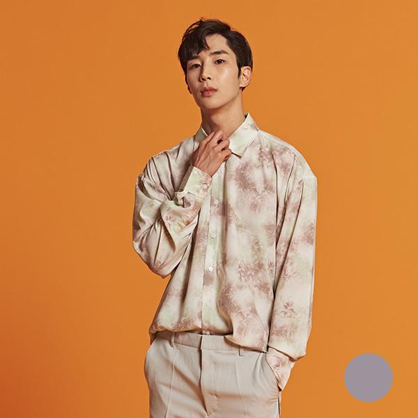 [올앤드]남성 오버핏 물나염 셔츠_LMBSI1612-509