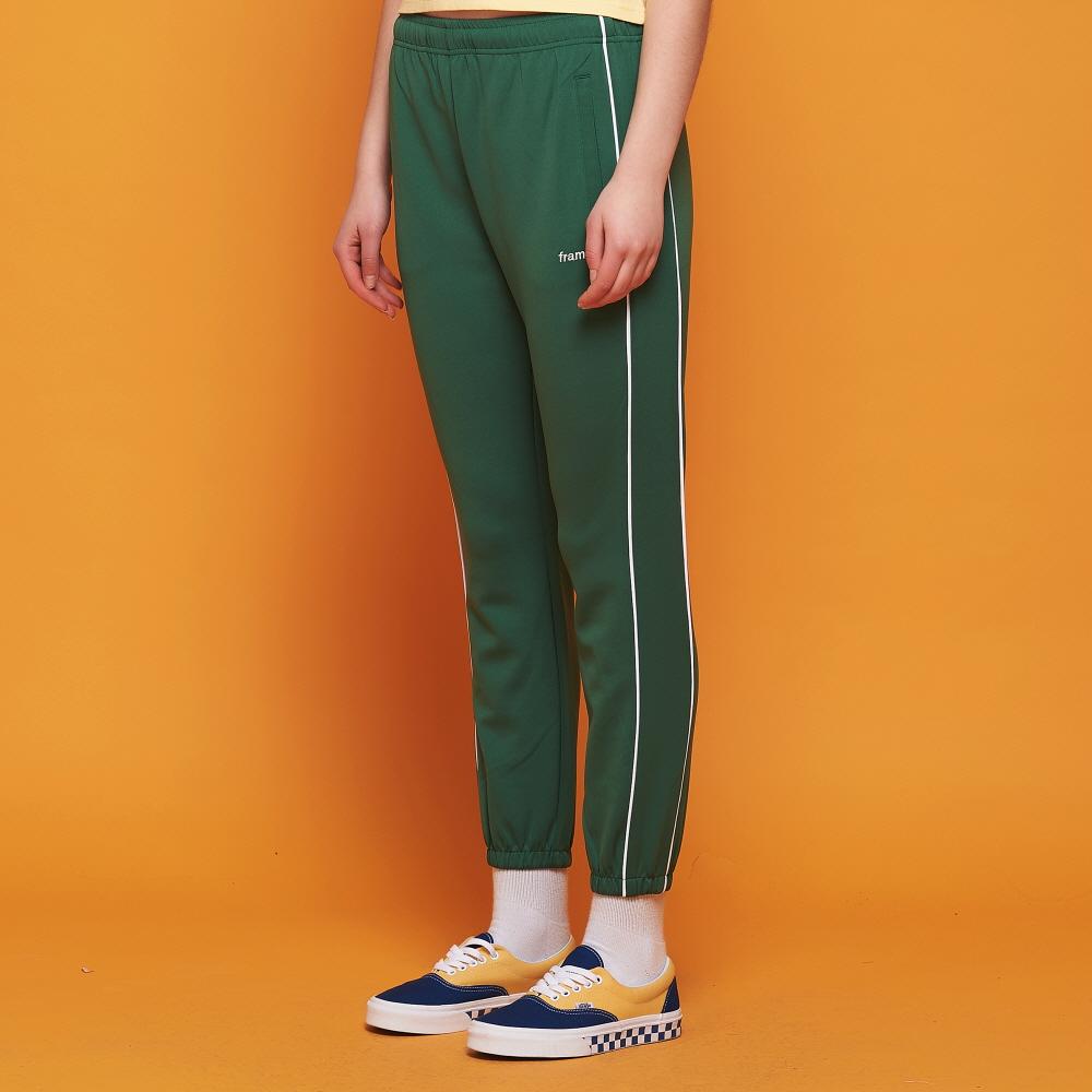 [어나더프레임] AF PIPING TRACK JOGGER PANTS (GREEN)