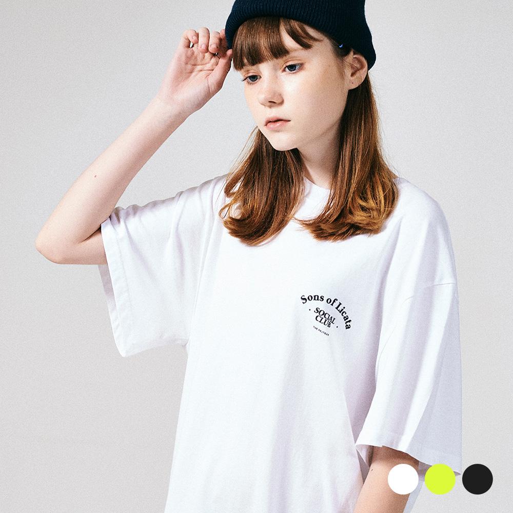 (UNISEX) 썬즈 오브 리카타 리어 아트웍 티셔츠 3COLOR