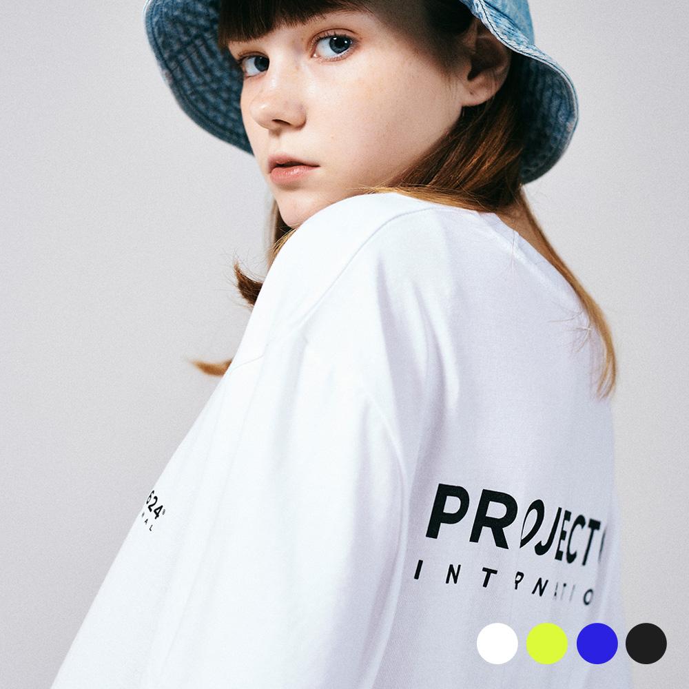 (UNISEX) 인터내셔날 빅로고 티셔츠 4COLOR