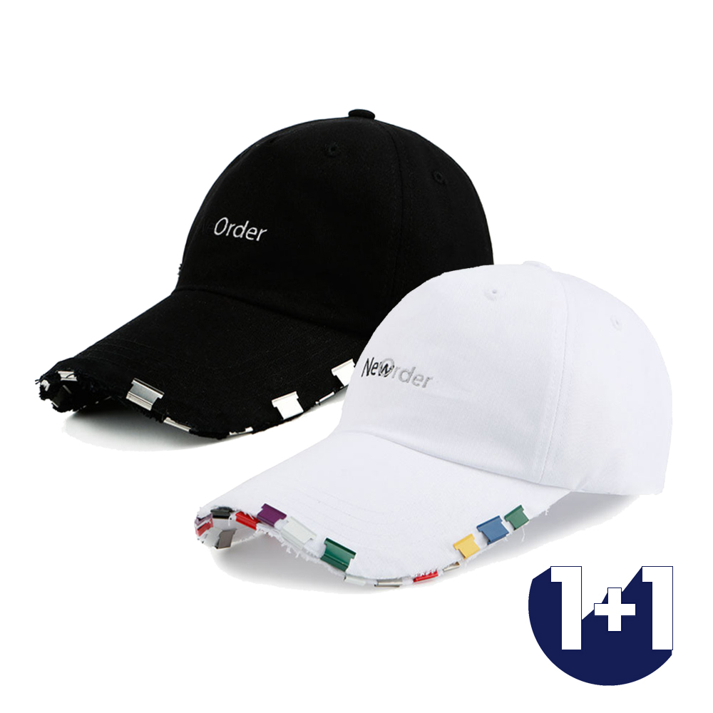 [단독할인][1+1][강다니엘 SF9 주호 착용][Motifest] Garments New Order Cap Slide Clip Ver. (2color)