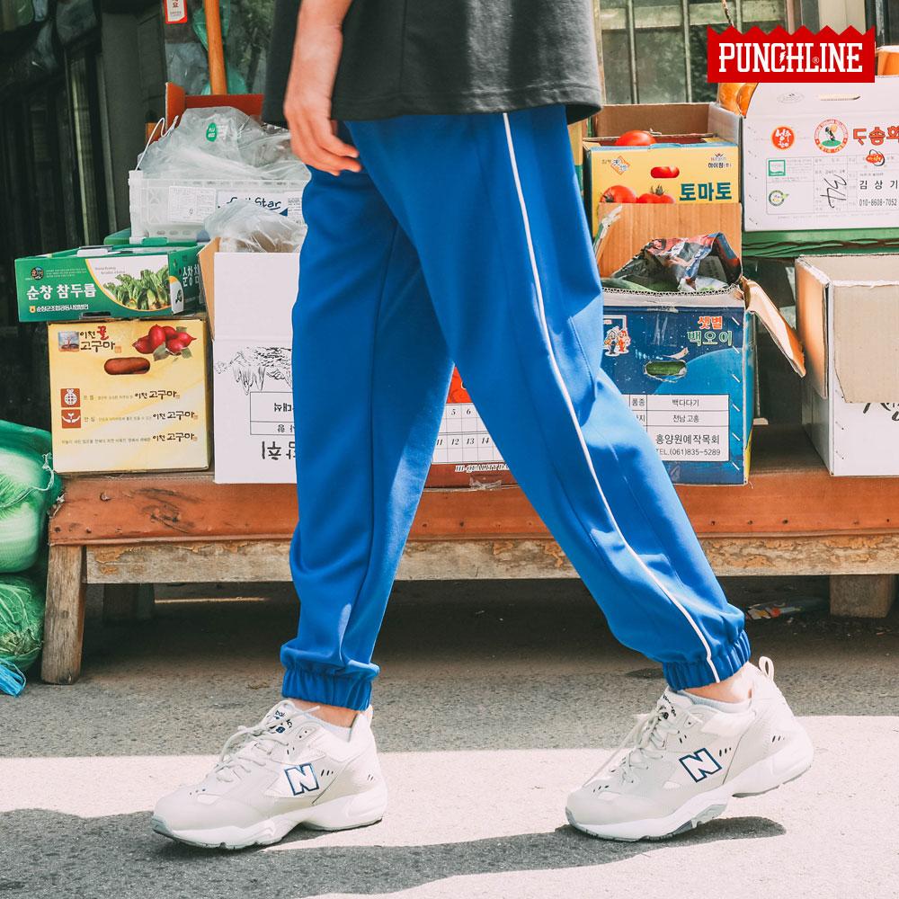 [기획특가][펀치라인] 워킹 조거팬츠 파랑 SYLP6136