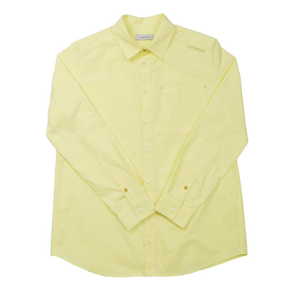 40수 베이직 셔츠 옐로우
