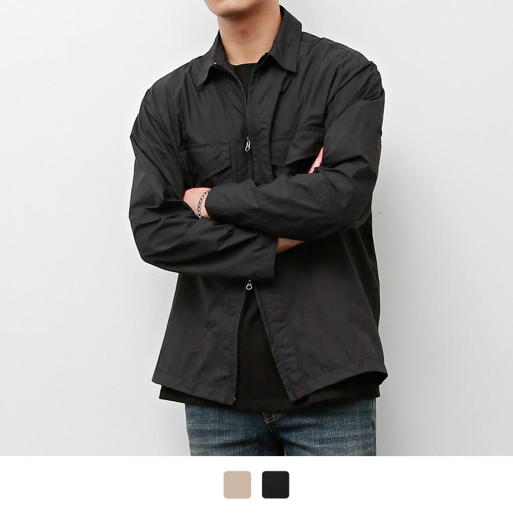 인비트윈 지퍼 셔츠 (2color)