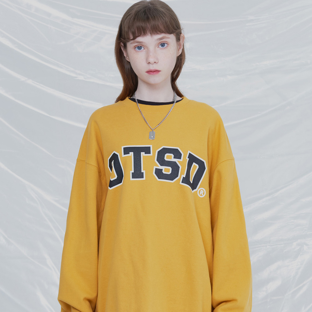 [UNISEX]BLOW UP SWEATSHIRTS (MUSTARD)