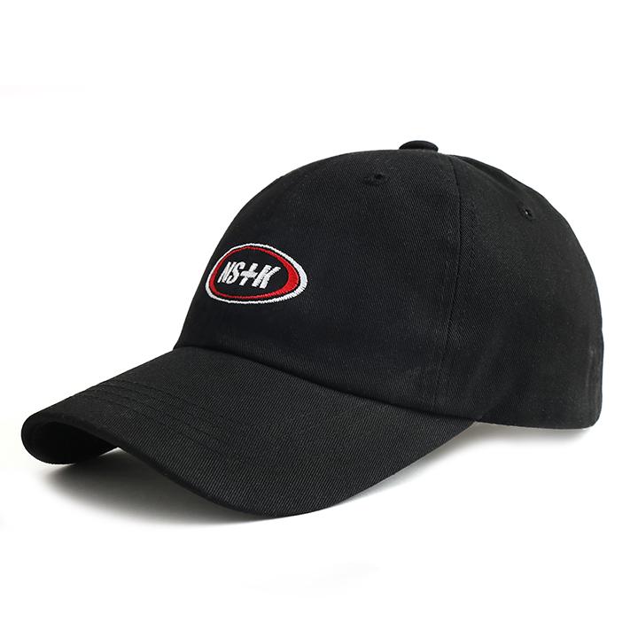 [NK] NSTK ELLIPS LOGO CAP (BLK) (NK19S065H)