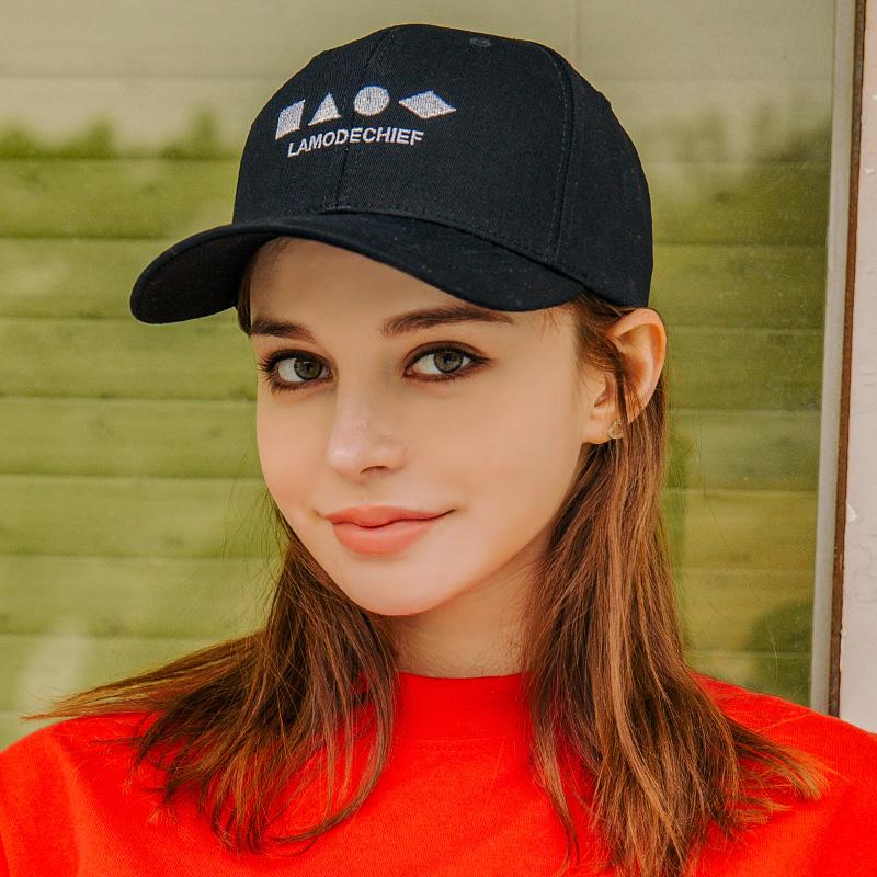 LAMC SHAPE BALL CAP (BLACK)