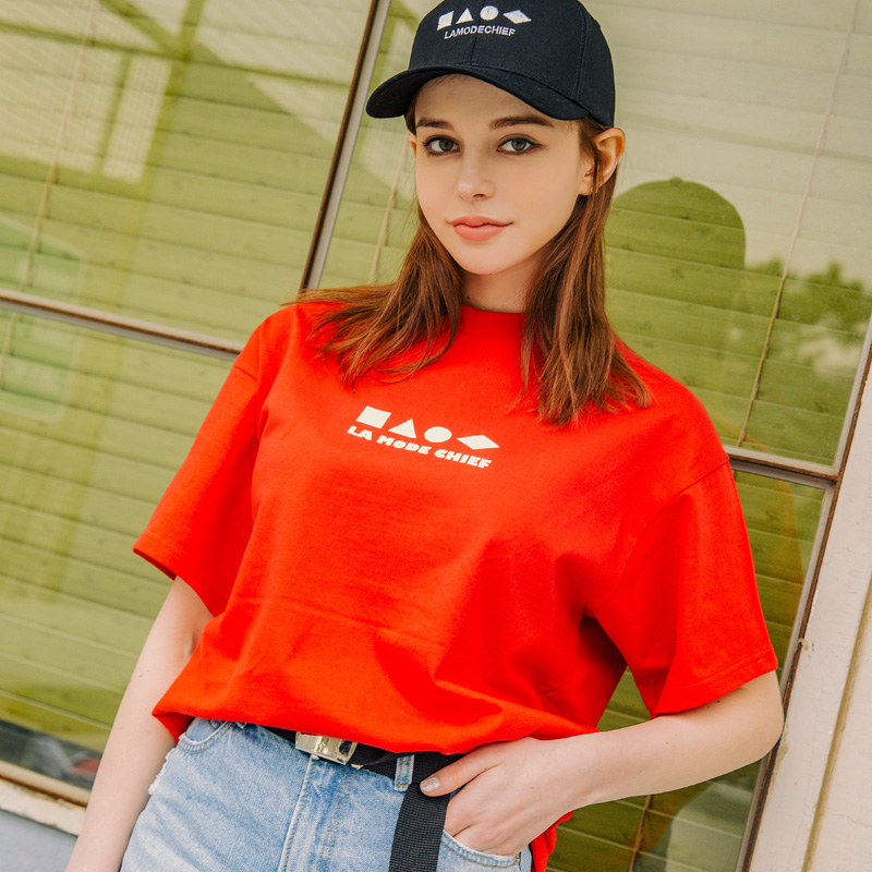 LAMC SHAPE SHORT SLEEVE (RED)
