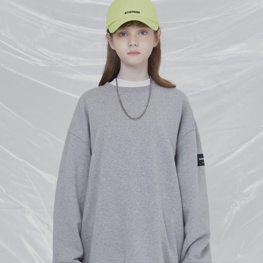 [UNISEX]THE OTHER BASIC OVERFIT SWEATSHIRTS (GRAY)