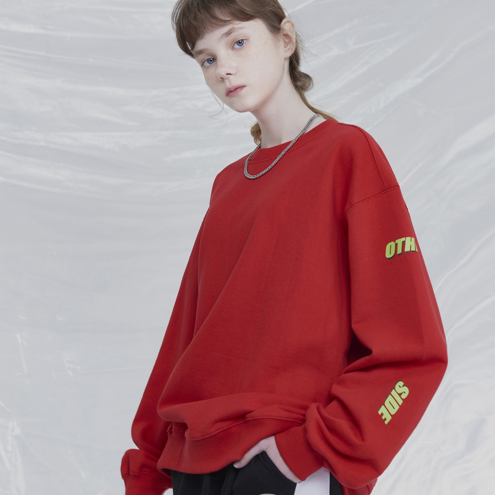 [UNISEX]UNEXPECTED RACING SWEATSHIRTS (RED)