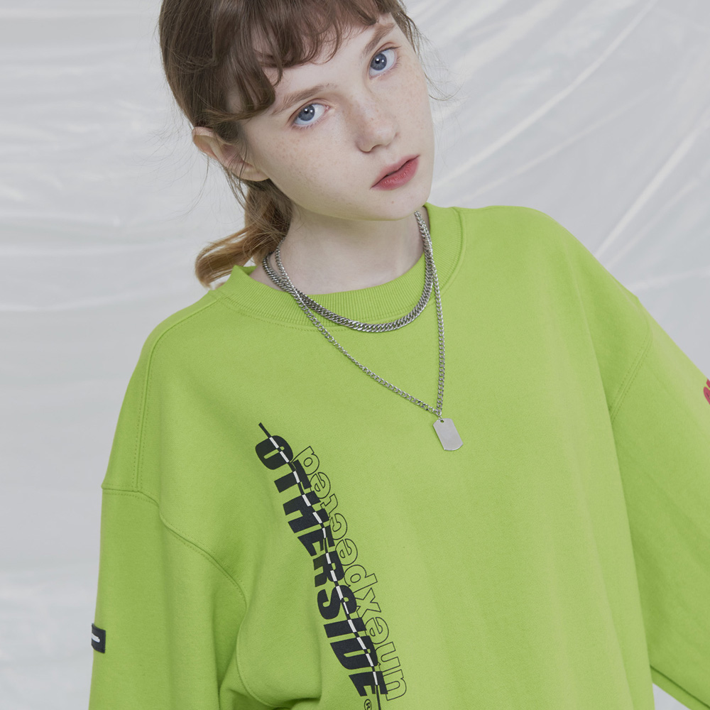[UNISEX]UNEXPECTED RACING SWEATSHIRTS (SOUND NEON)