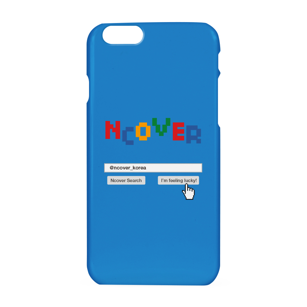Color logo search case-blue