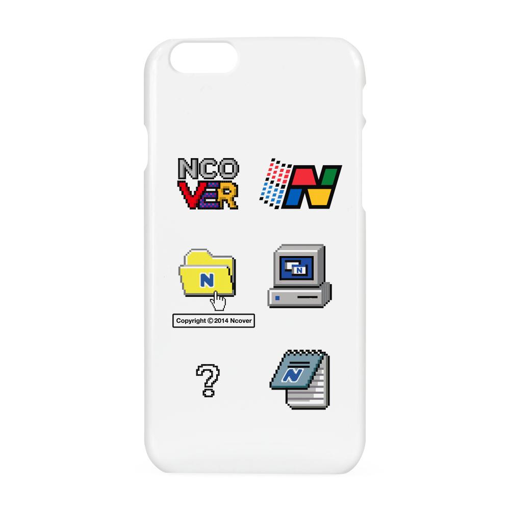 Computer icon case-white