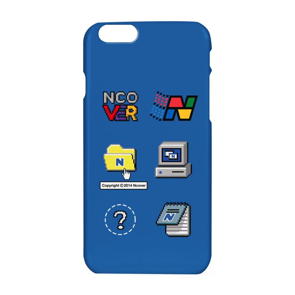 Computer icon case-blue