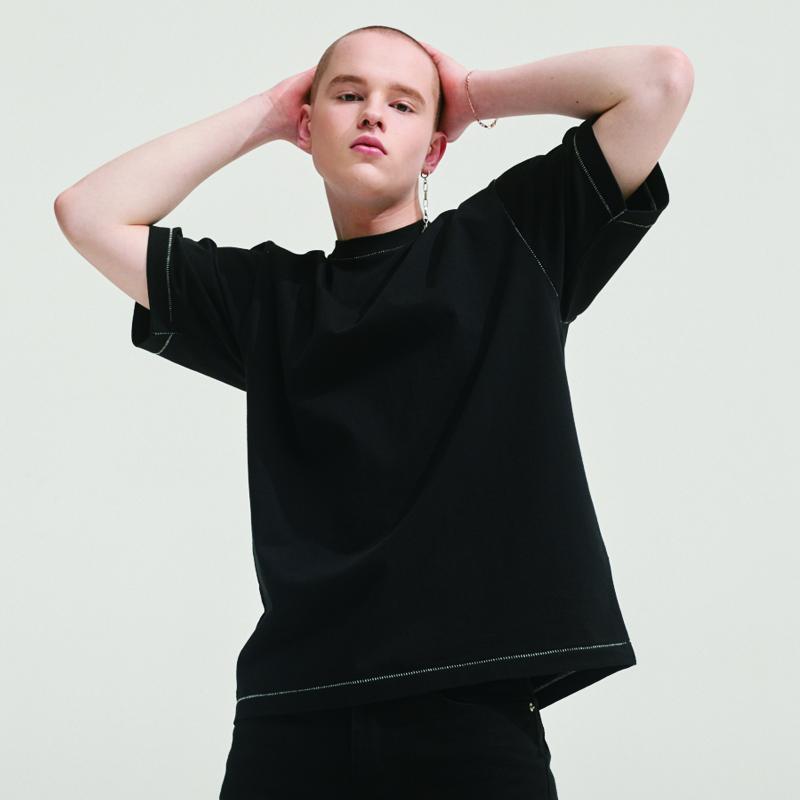 SECRET STITCH LABEL T-SHIRTS BLACK