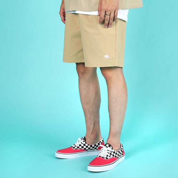 [단독벨트증정]ROCKPSYCHO only short pant-beige 락사이코 올리 반바지- 베이지