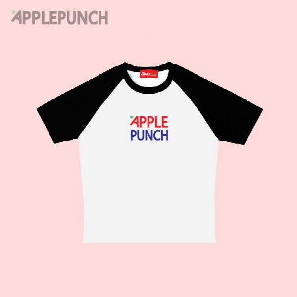 애플 센터 로고 나그랑 나그랑 반팔티셔츠