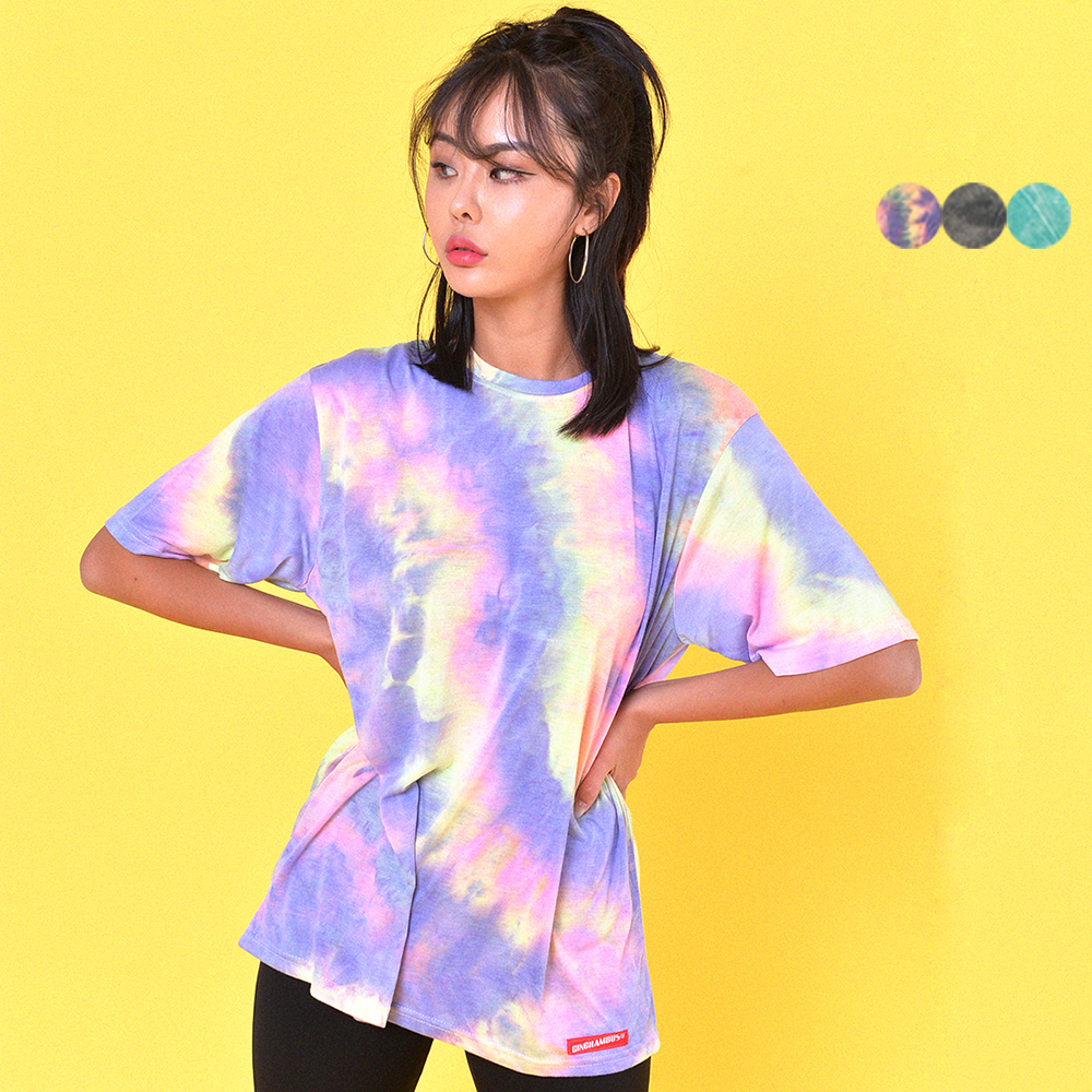 JUST TIE-DYE T-SHIRT(3color)(unisex)