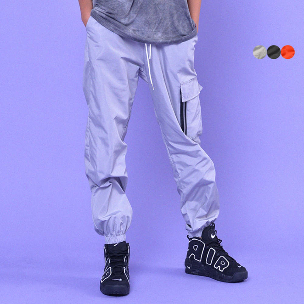 ZIPPER CARGO JOGGER PANTS(3color)(unisex)
