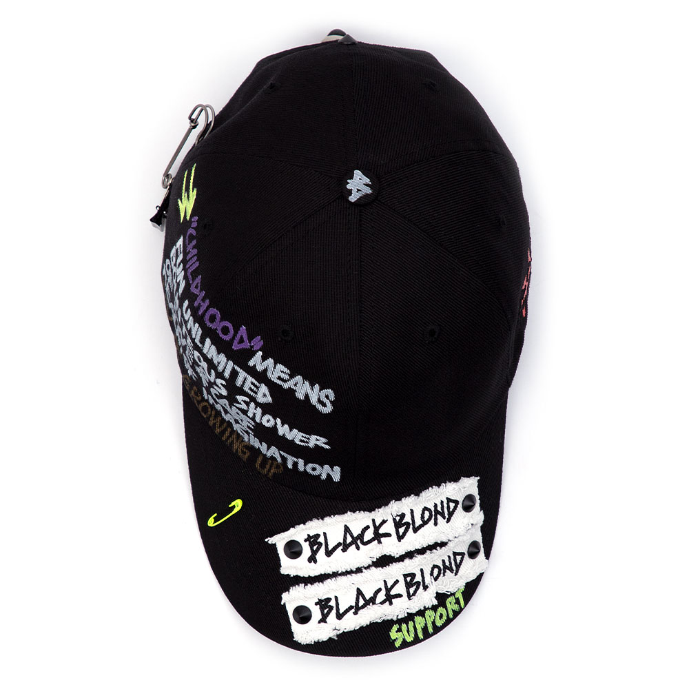 BBD Side Logo Childhood Cap (Black)