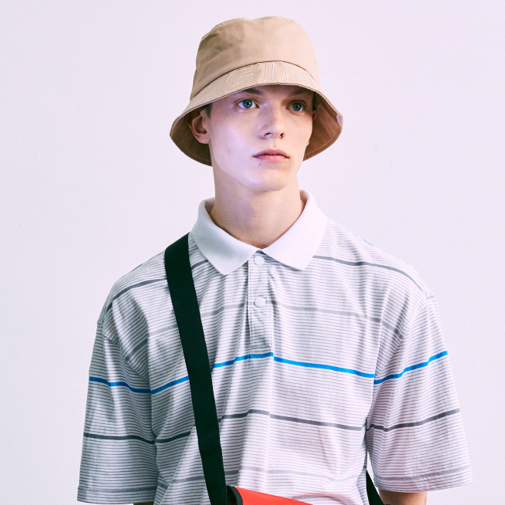 LOGO BUCKET HAT 로고 버킷햇