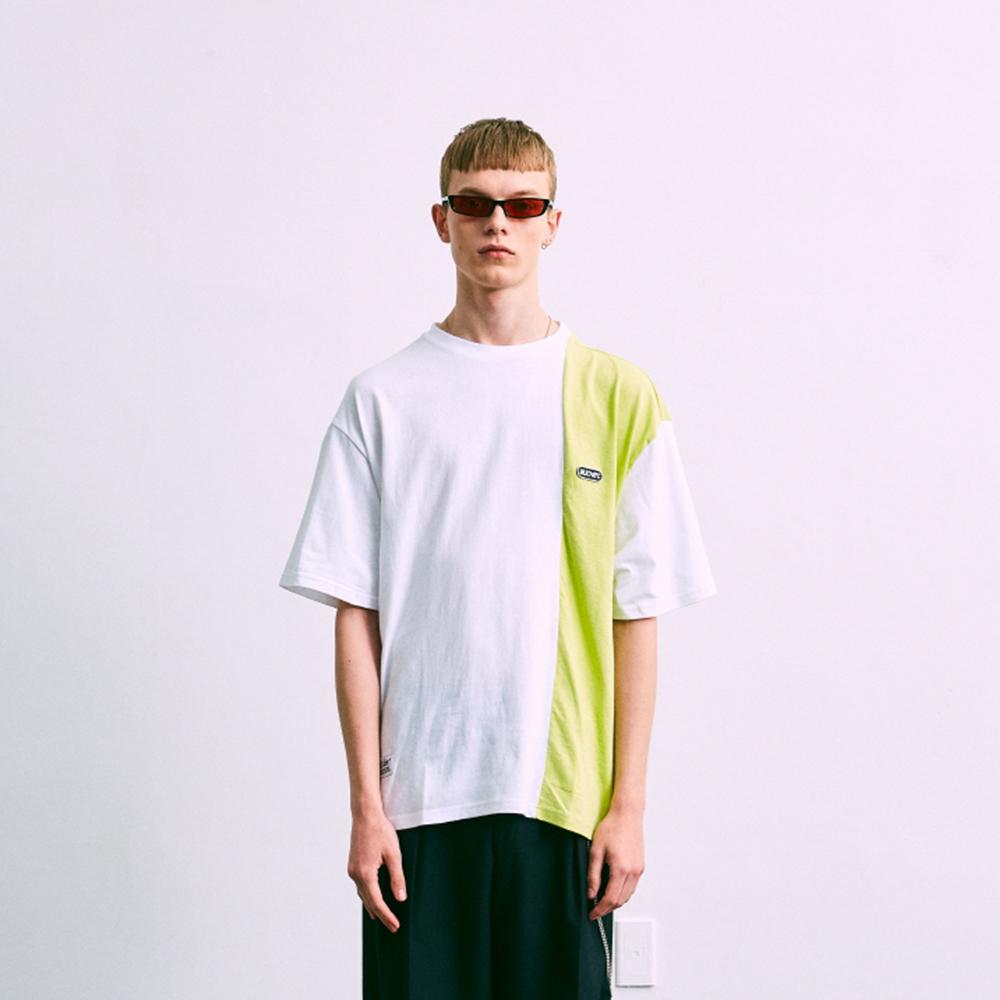 COLOR BLOCKING TS 컬러 배색 반팔 티셔츠
