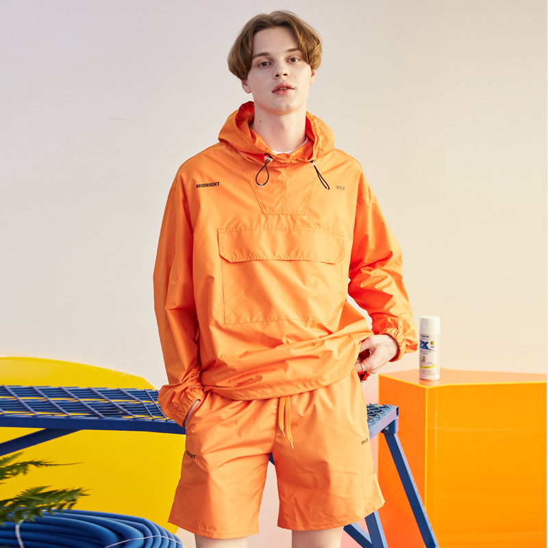 [단독할인][unisex] summer anorak (orange)
