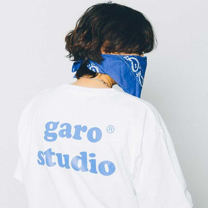 [단독할인]garo studio Tee (White)