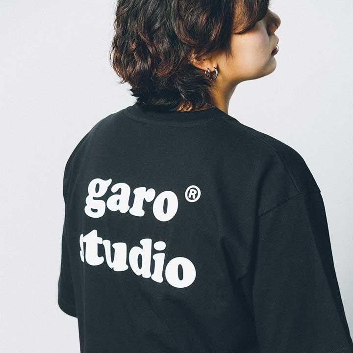 [단독할인]garo studio Tee (Black)