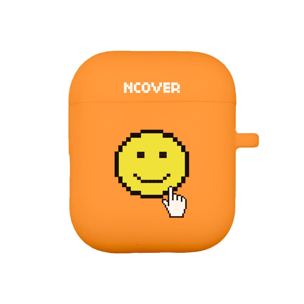 Smile cursor-orange(airpod case)