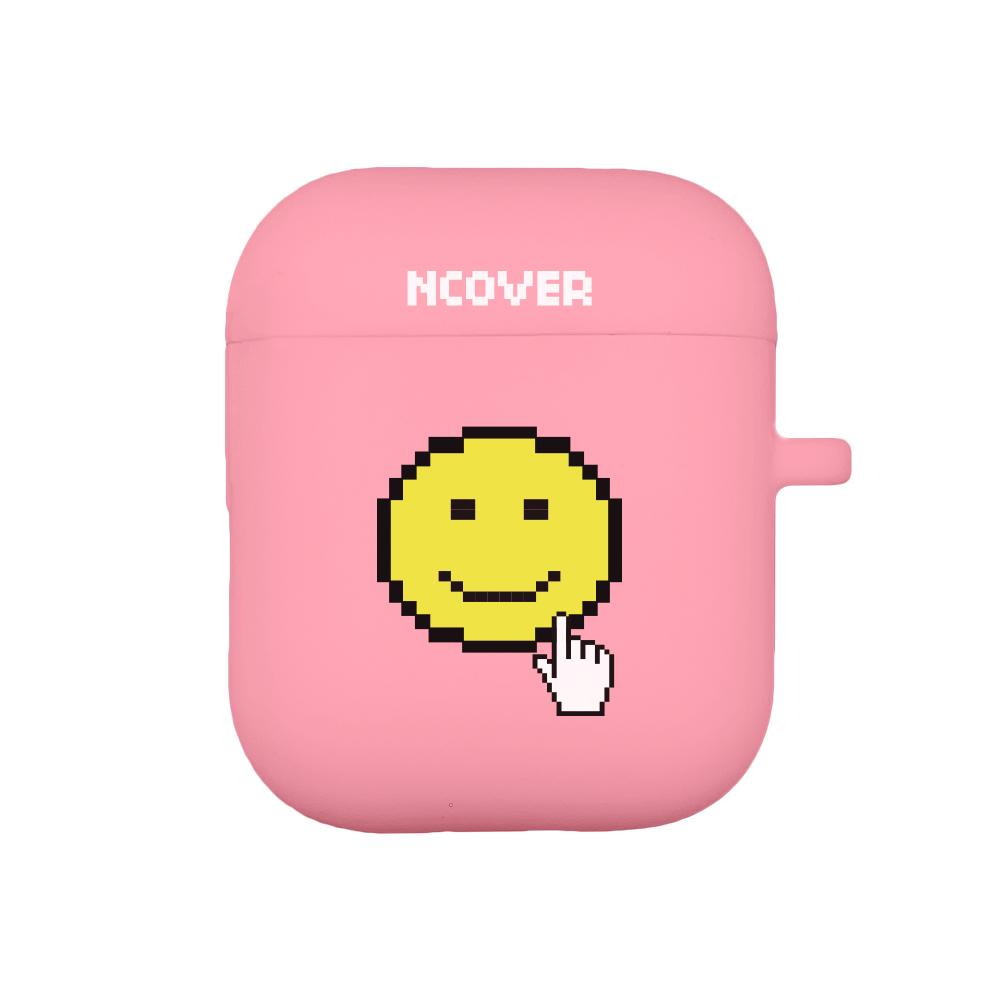 Smile cursor-pink(airpod case)
